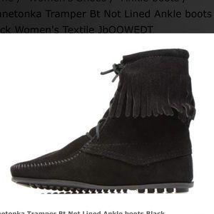 Minnetonka Tramper Bt Not Lined Ankle boots